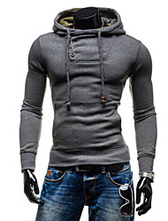 liveshow,Men's Sweats & Hoodies , Cotton/Rayon Long Sleeve Vintage/Casual/Party/Work Winter/Spring/Fall liveshow