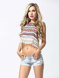 Women's Sexy Beach Casual Party Straps Backless Vest Tank Top