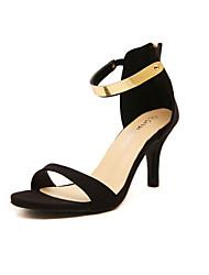 Women's Shoes   Stiletto Heel Heels Sandals Casual Black