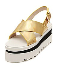 Women's Shoes Platform Creepers Sandals Casual Black/Silver/Gold