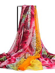 Women's fashion soft printing Large Size scarves