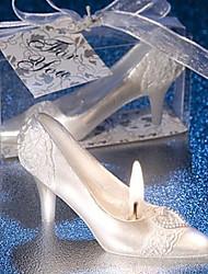 Novel High-heel Shaped Smokeless Candle Wedding Favors