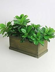 "12.2"" Green  Decorative Material Murraya Paniculata Artificial Plant Set of 1"