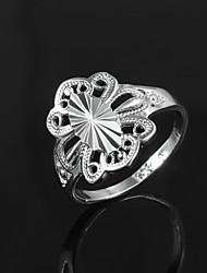 Plateado 2015 caliente venta de productos vestido de dama s925 plata regalo anillo de declaración para los amantes
