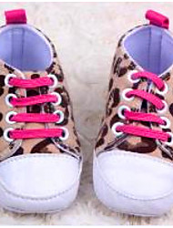 Baby Shoes - Casual - Sneakers alla moda - Di corda - Marrone / Bianco