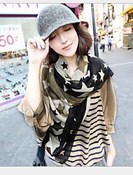 Women Fashion Pentagonal Star Big Scarf Shawls
