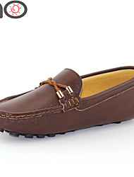 MO Men's Suede Loafers Shoes Doug Shoes Moccasin Shoes for Driving Soft Shoes