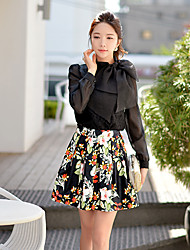 Pink Doll®Women's Casual/Party/Print Pleated A-line Skirts