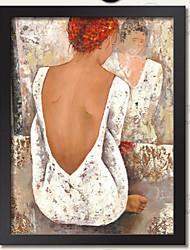 стены искусства личная рамка Описание деревянный каркас с холста с пластиковым органическое стекло 1шт / набора случайный цвет
