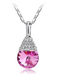 Set auger drops necklace Crystal PiaoYe necklace Taobao sell lots of blasting