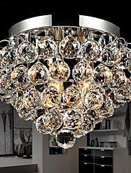 Montagem Embutida Luzes Crystal Ball metal galvanizados Moda Moderna