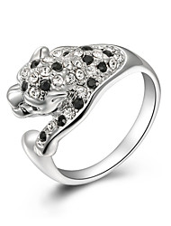 Z&X® Europe Style Zircon Leopard Statement Rings Wedding/Party/Daily