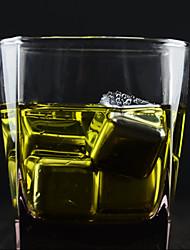 Alle blau (8 Stück) kreativ importierten Whisky tiefgefrorenen 304 ice cube Edelstahl für Bar