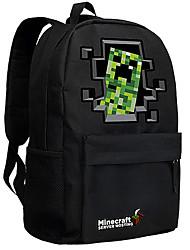 24L Minecraft backpack Enderman day pack New School bag Nylon rucksack Game daypack 053
