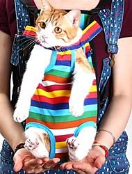 divertimento di corsa dell'animale domestico sacchetto Pets® portaborse gatto per i piccoli cani da compagnia cinque fori zaino zaino