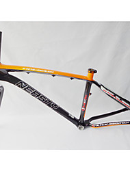 "MB-NT02+FK-NT19 Neasty Brand  Full Carbon Fiber Orange Color Decal 26er MTB Frame and Fork 15""/17"""