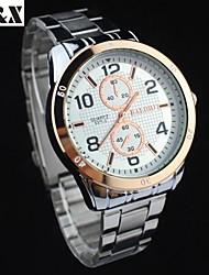 Women's Fashion Water-Proof Leisure Alloy Quartz Wrist Watch(Assorted Colors)