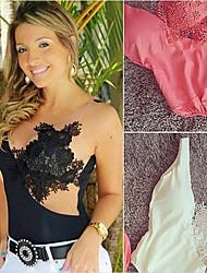 Saili       Women's Sexy/Lace Sleeveless Vests (Lace)