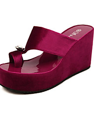 Women's Shoes  Wedge Heel Wedges Sandals Casual Black/Red