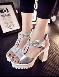 Women's Shoes Silver/White Others Pumps/Heels (Rubber)