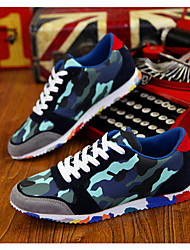 Men's Shoes Casual Fabric Fashion Sneakers Black/Blue/Green