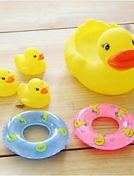 brinquedos do bebê com pá patinhos pequenos nadar anel vai chamar ternos