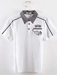 Boy's Summer Thin Short Sleeve Tee/Shirt (Cotton)