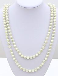 Strands Colliers ( Perle ) Mariage/Soirée/Quotidien/Casual