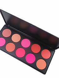 10 Lidschattenpalette Trocken Matt Lidschatten-Palette Puder Normal Alltag Make-up Party Make-up Feen Makeup