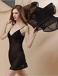 WEST BIKING®  New Lady Sexy Silk Two-Piece Gown Home