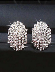 SP Fashion Popular Rhinestone Beatles Earrings