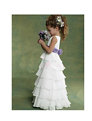 Kid's Casual/Cute/Party Dress (Chiffon/Cotton)