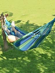 informale all'aperto amaca a strisce di colore portatile (colore casuale)