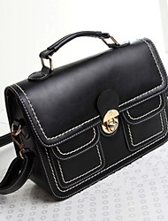 Handcee® Fashion and Popular Woman PU Vintage Design Shoulder Bag