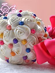 Свадебные цветы Круглый Лилии Букеты Партия / Вечерняя Атлас 23 см
