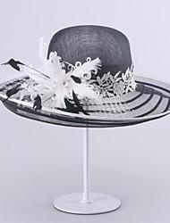 Femme Vannerie Casque-Mariage / Occasion spéciale Chapeau 1 Pièce