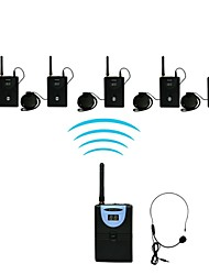 2.4G Digital Wireless Tour Guide / Translation system (1 Transmitter 5 Receiver)