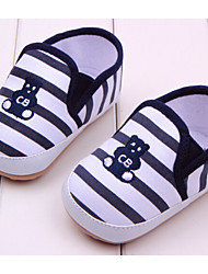 Baby Shoes Casual Fabric Loafers Blue/Red