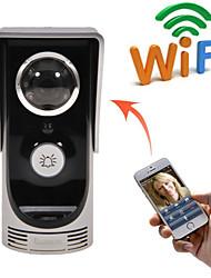 wifi nouvelle vidéo de détection de mouvement de téléphone de porte sonnette imperméable caméra Connect Mobile