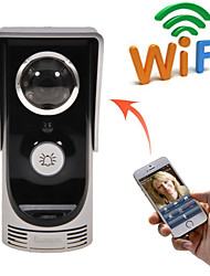 neue wifi Video-Türsprechbewegungserkennung Türklingel regen Kamera anschließen Mobil