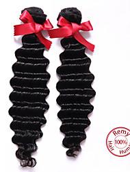 pelo virginal mucho 7a peruano evet 2pcs teje sin procesar peruana onda profunda superior del cabello humano venta de la extensión del