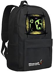 Minecraft backpack Enderman day pack New School bag Nylon rucksack Game daypack 043