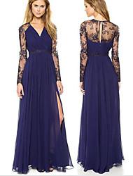 Diyaxuan Women's Dresses , Chiffon Vintage/Sexy/Casual Diyaxuan