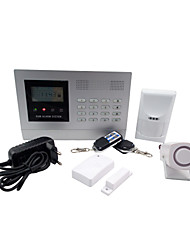 New Version GSM Security Burglar Alarm Systems With Multiple Wireless Zones