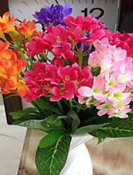 belles fleurs en tissu d'orchidées (x2)