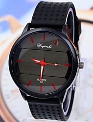 relojes deportivos de moda de silicona ocasional de los hombres