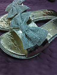 Women's Shoes Glitter Platform Platform Sandals Casual Silver/Gold