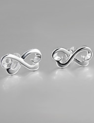 2015 New Products Italy S925 Silver Plated Stud Earrings for Lady Fine Statement Jewelry for Women