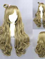 28inch Long Wave Blonde Love Live Minami Kotori Synthetic Anime Cosplay WigCS-258A