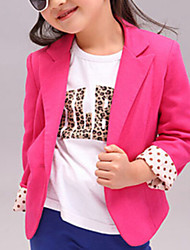 Girl's  Korean Foreign Trade Small Suit & Blazer (Cotton)